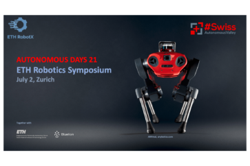 Autonomous days 21 & ETH Robotics Symposium